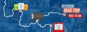 Cooper Tire My Every Day Road Trip Sweepstakes