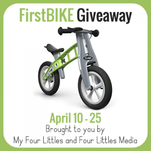 FirstBIKE Giveaway
