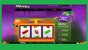 Mike and Ike Spin & Win Game