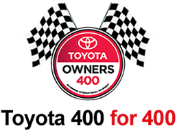 Toyota 400 for 400 Instant Win Game