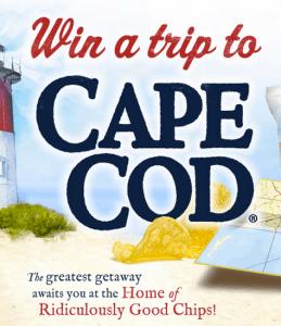 Cape Cod Potato Chips - Cape Cod Escape Sweepstakes