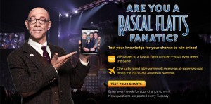 Farmers Insurance Rascal Facts Sweepstakes