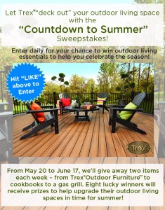 "Trex Company - ""Countdown To Summer"" Sweepstakes"