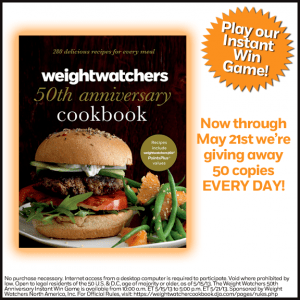 Weight Watchers 50th Anniversary Instant Win Game