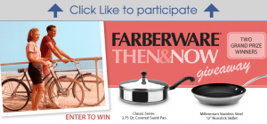 Farberware Cookware Then & Now Sweepstakes