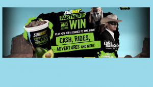 Subway Restaurants Partner Up And You Could Win Instant