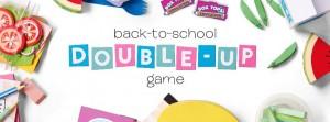 Ziploc Back-to-School Double-Up Instant Win Game