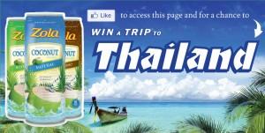 Zola Acai Thailand Sweepstakes