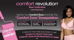 Bali Comfort Zone Sweepstakes
