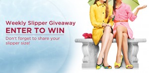 Dearfoams Weekly Slipper Giveaway