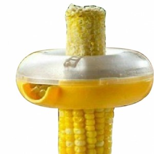 Doughnut Style Washable Detachable One Step Corn Peeler