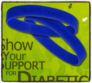 FREE Diabetes Wristband