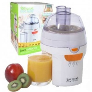 Feel Good Live Well 200W Fruit and Vegetable Juice Extractor