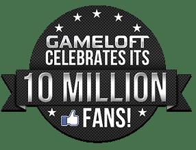 Gameloft 10 Millions Fans Mosaic Instant Win Promotion