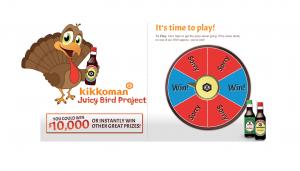 Kikkoman Juicy Bird Sweepstakes and Instant Win Game