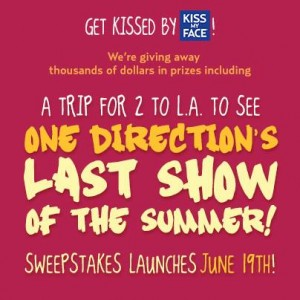 Kiss My Face – Get Kissed by Kiss My Face Sweepstakes