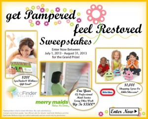 LittleTikes.com July & August Get Pampered Feel Restored Sweepstakes
