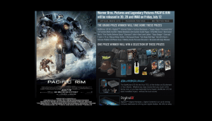 Warner Bros Pacific Rim Sweepstakes