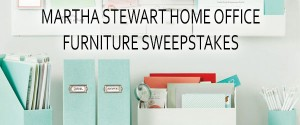 MarthaStewart.com's Home Office Furniture Sweepstakes