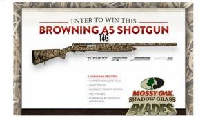 Mossy Oak Browning A5 Shotgun Giveaway