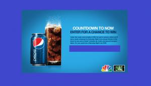 Pepsi Countdown To Now Sweepstakes