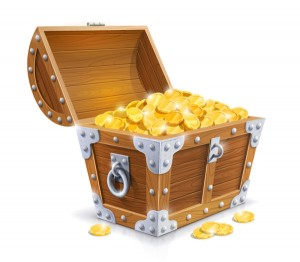 Treasure Seekers Come Find Hidden Coins to Win an iPhone or Cash!