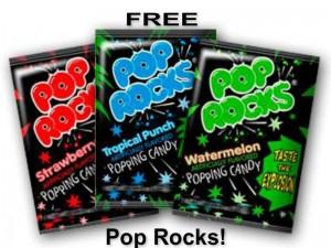 FREE Pop Rocks Candy