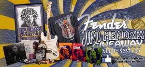 Fender Jimi Hendrix Giveaway
