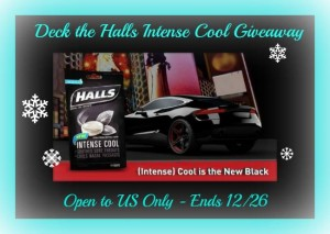 Deck the Halls Intense Cool Cough Drops Giveaway
