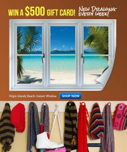 Fathead Warm Winter Wishes Sweepstakes