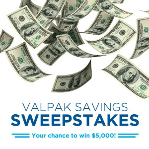 Valpak $5,000 Sweepstakes