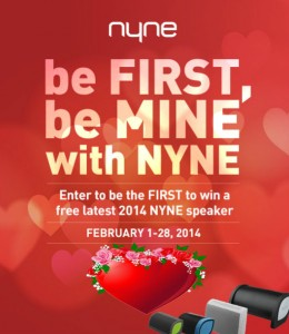 Be First, Be MINE With NYNE Sweepstakes