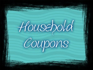 HOUSEHOLD COUPONS