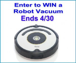 Enter to WIN a Robot Vacuum
