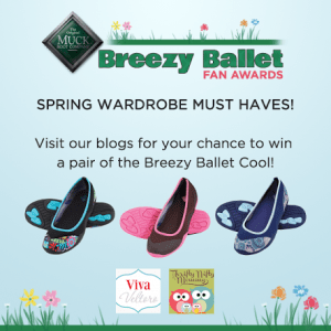 #WIN 1 of 3 pairs of @MuckBootCo Women's Breezy Ballet Cool Shoes! #muckboots #Giveaway