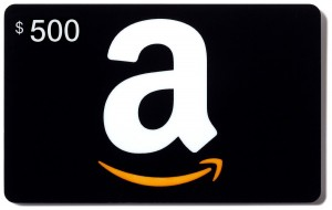Enter to WIN a $500 Amazon Gift Card