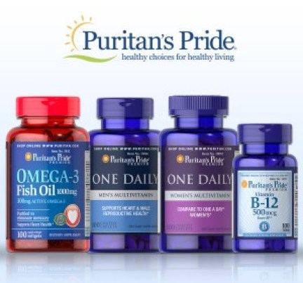 Puritans Pride Back to School Giveaway