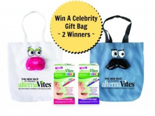 alternaVites Celebrity Gift Bag Prize Pack Giveaway