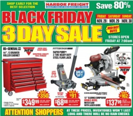 Harbor Freight #BlackFriday Ad