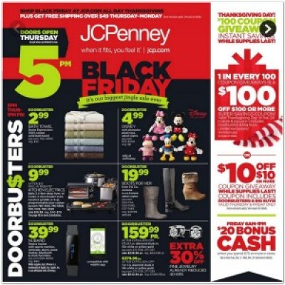 JCPenney #BlackFriday Ad