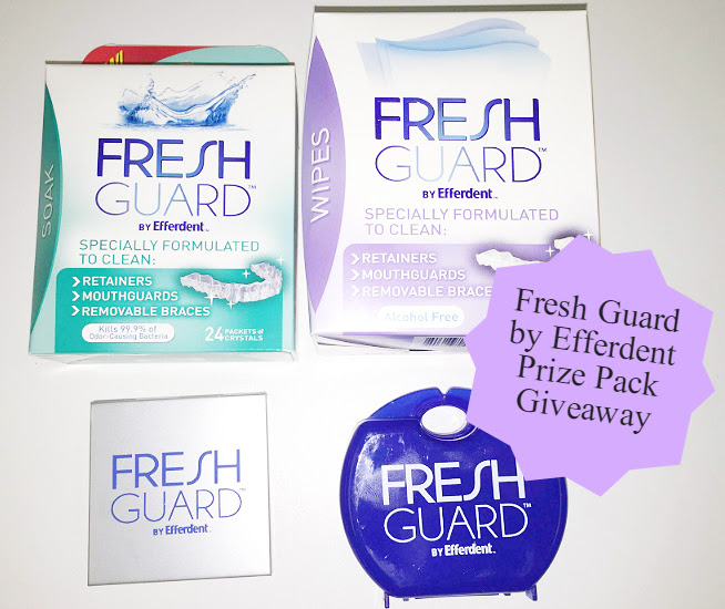 New Fresh Guard™ by Efferdent™ Gift Pack Giveaway1