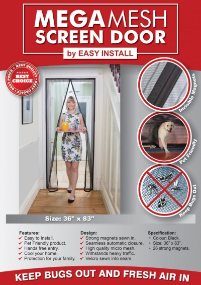 Mega Mesh #magneticscreendoor Review