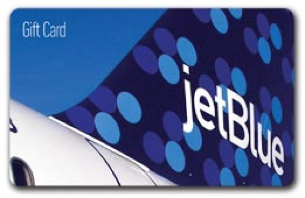 JetBlue $1500 Gift Card Sweepstakes