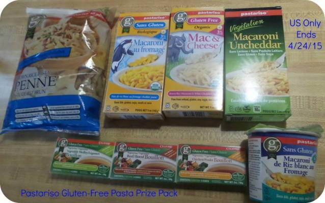 Pastariso Gluten-Free and Vegan Pasta Prize Pack Giveaway