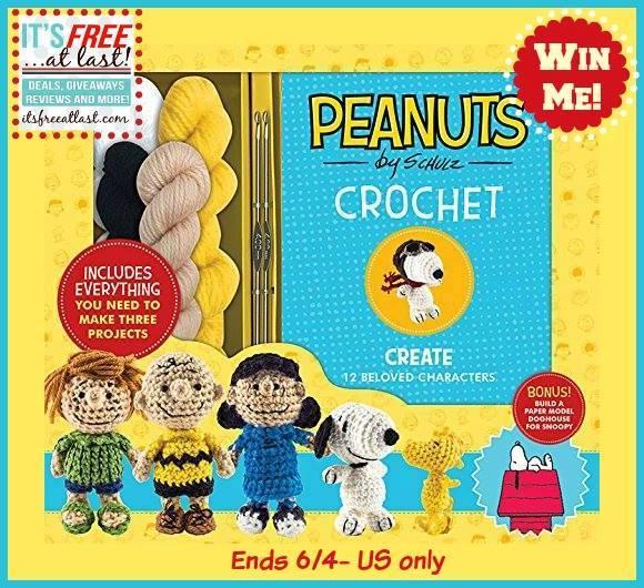 Peanuts Crochet Set Giveaway2