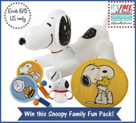 Peanuts and Target Summer Fun Prize Pack Giveaway2