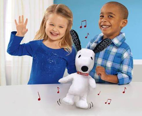 Dancing Snoopy Toy Giveaway1