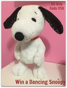 Dancing Snoopy Toy Giveaway2