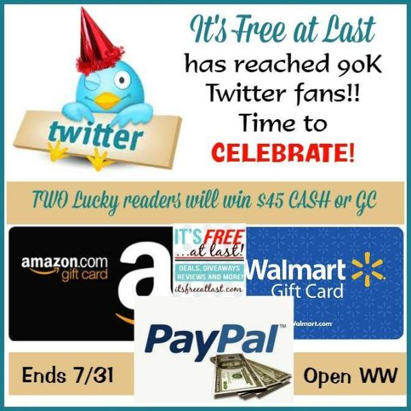 Winners Choice $45 Gift Card Giveaway