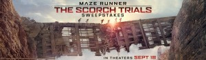 MovieTickets.com 'Maze Runner - The Scorch Trials' Sweepstakes